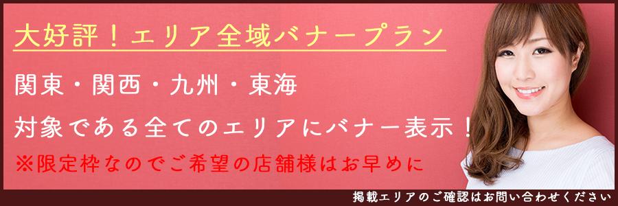 長崎高収入・風俗求人「ハピハロ(ハッピーハローワーク)」広告掲載/全域バナープランについての説明